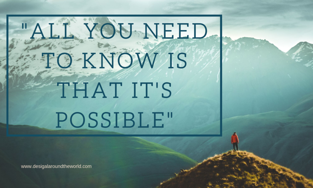 """All you need to know is that it's possible."" -Wolf, an Appalachian Trail Hiker TRAVEL QUOTES INSPIRATIONAL"