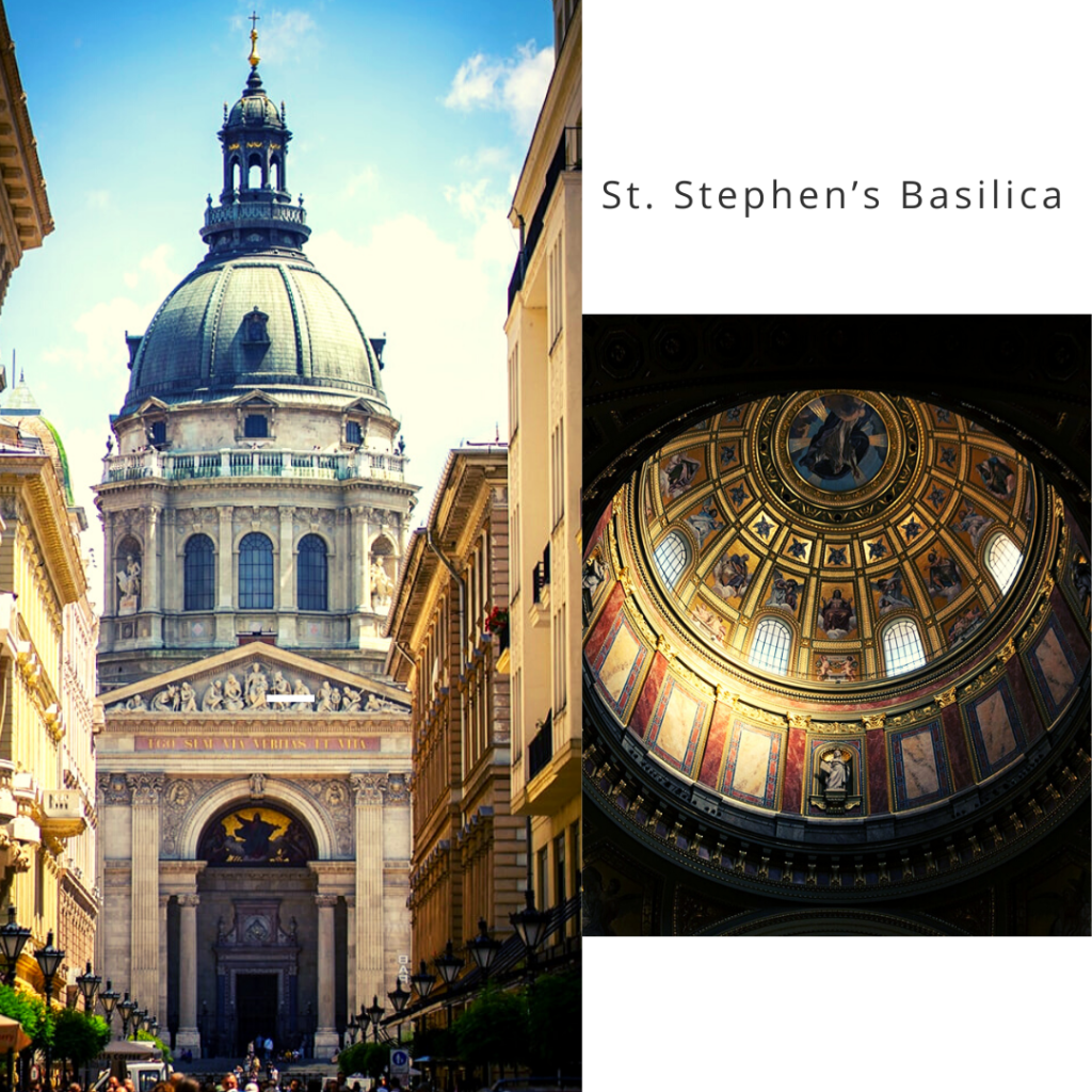 St. Stephen Basilica, things to do in Budapest.