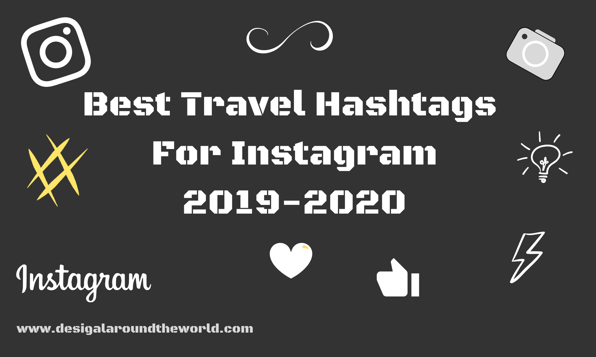 best travel hashtags 2020