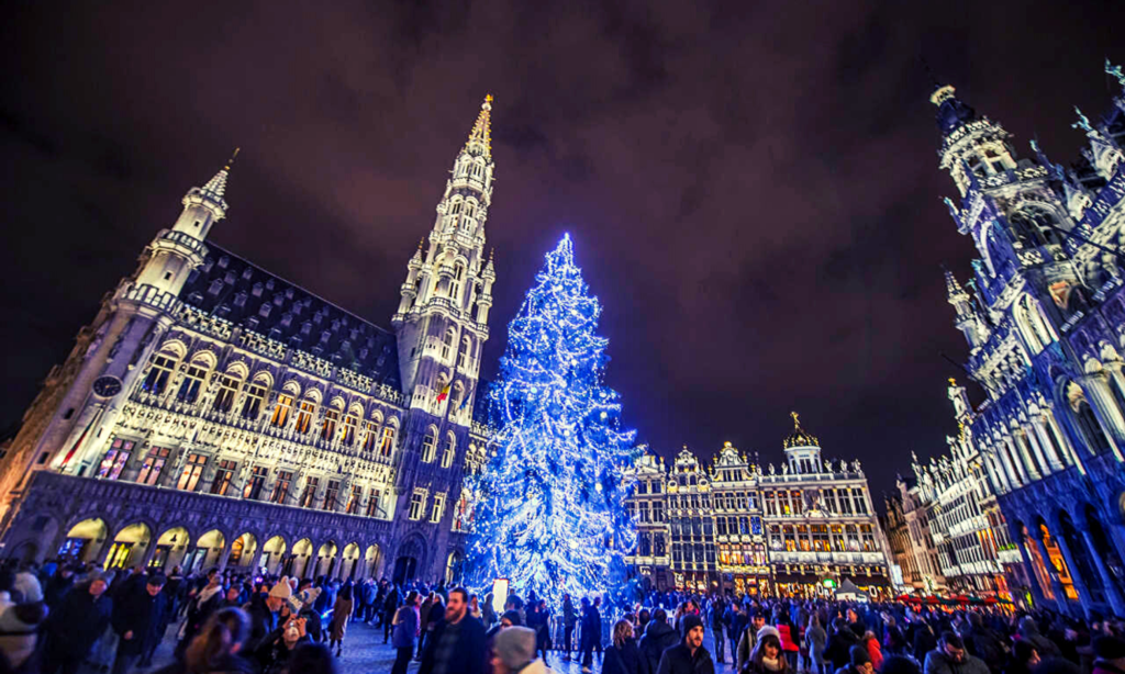 1. Brussels 'Winter Wonders'