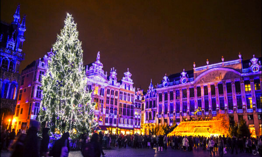 Brussels Christmas market 2019-2020 grand place