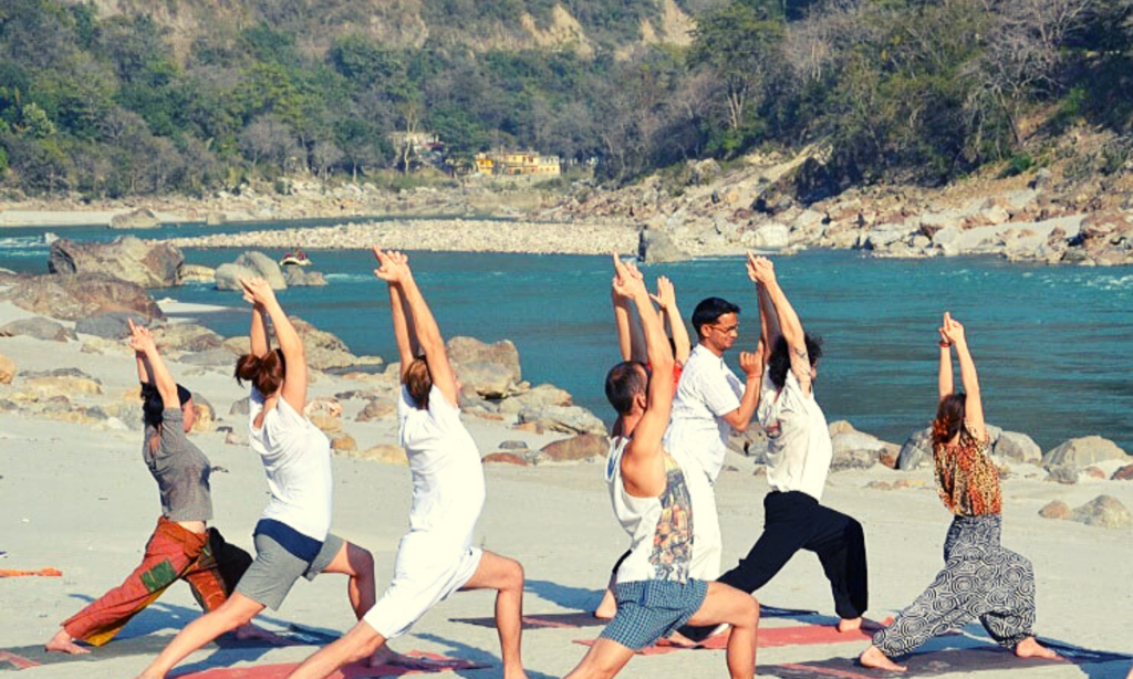 Yoga capital of the world, rishikesh India