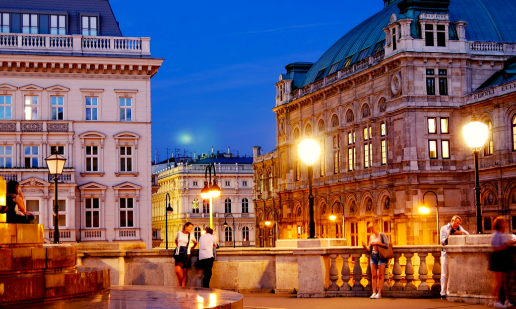 best places to travel in july, Vienna