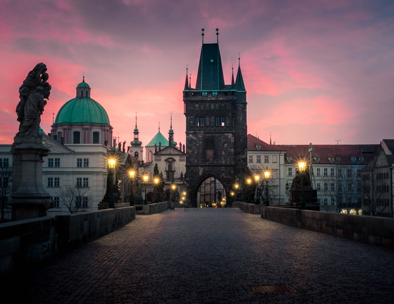 Charles Bridge, top things to do in Prague