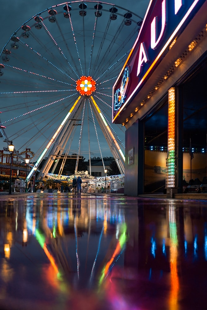 Riesenrad or the giant Ferris wheel  : PRATER , 2 DAYS IN VIENNA
