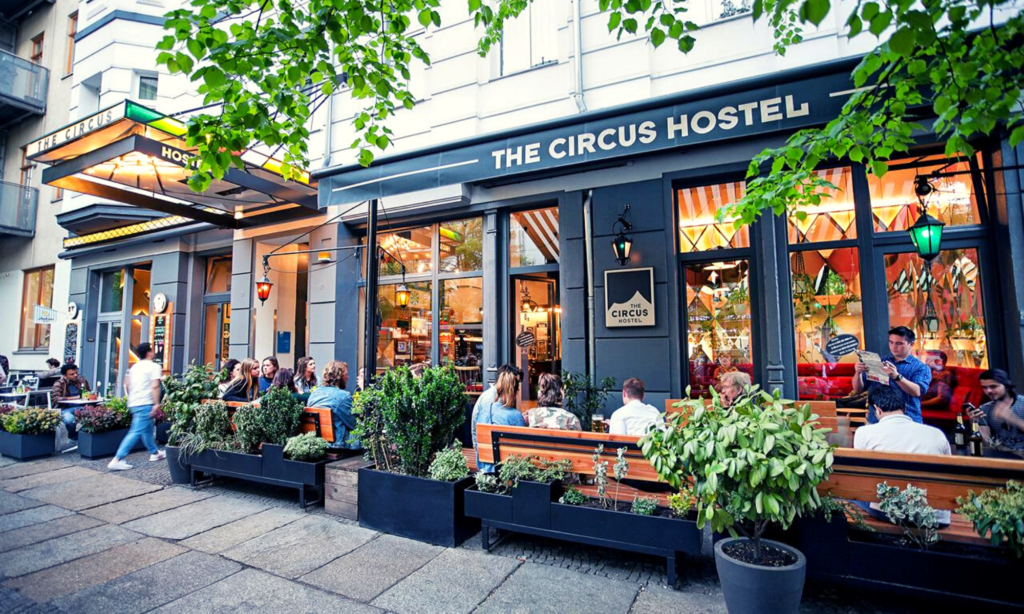 The circus Hostel, 3 days in berlin