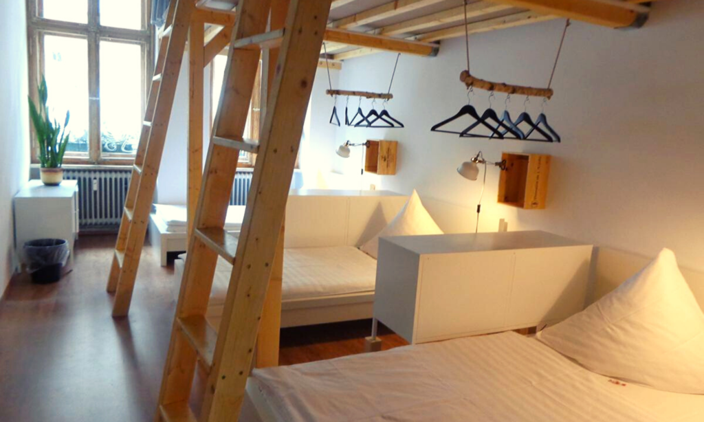 The Minimal Hostel, where to stay in berlin