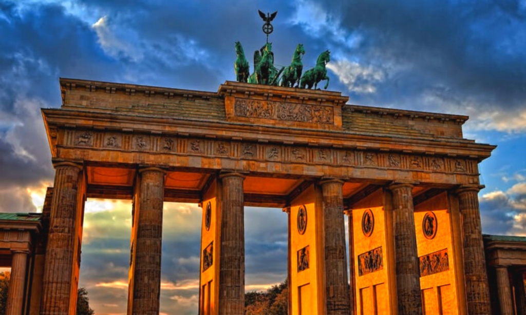 Brandenburg gate, 3 days in Berlin