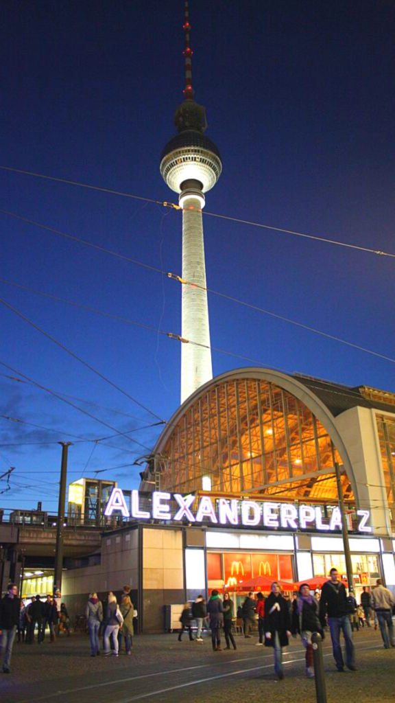 Alexanderplatz, 3 days in Berlin