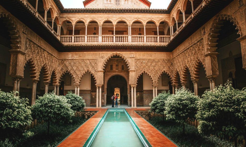 2. THE ROYAL PALACE OF ALCÁZAR ;