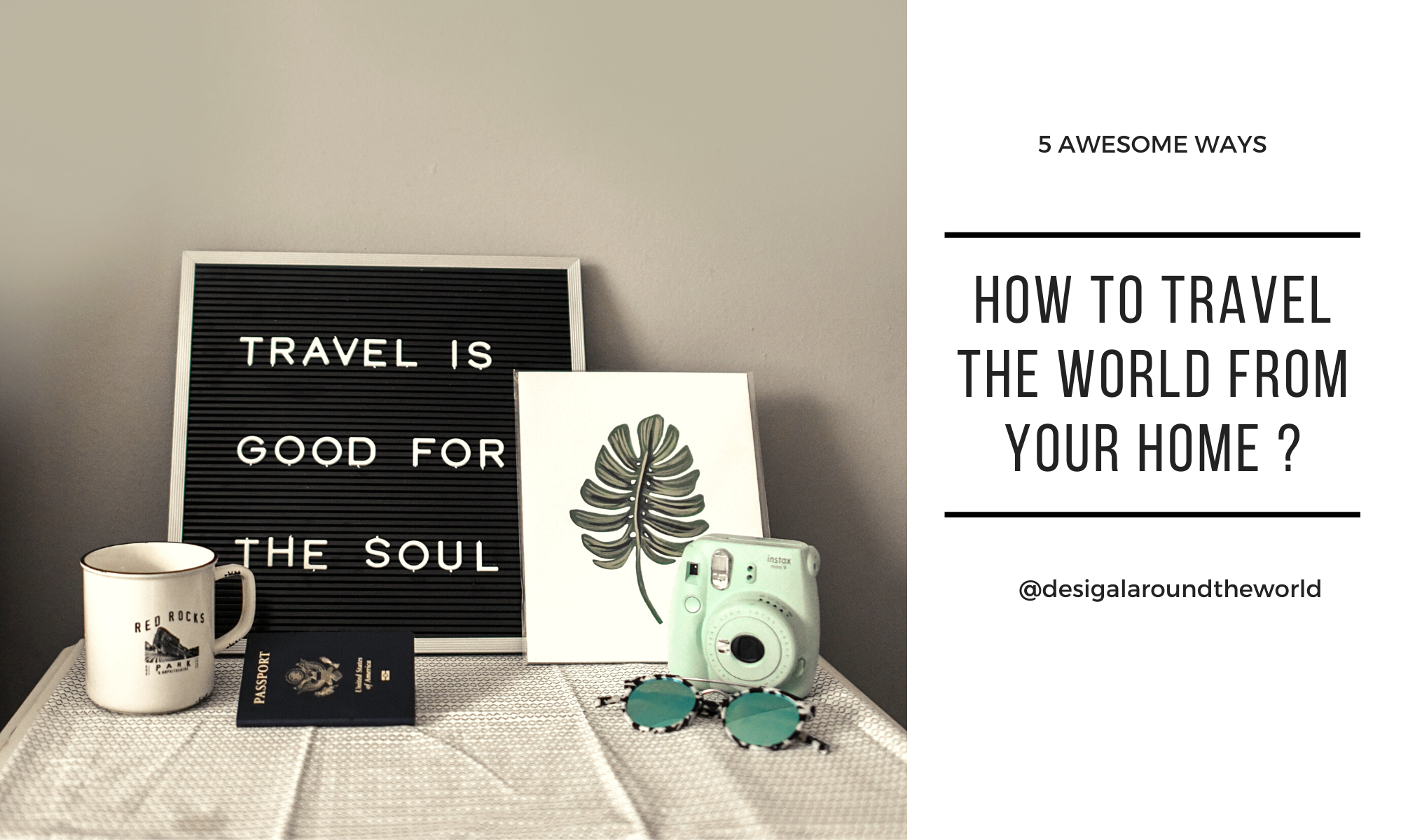 How to travel the worldforfree